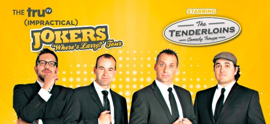 Cast of Impractical Jokers & The Tenderloins at Verizon Theatre at Grand Prairie