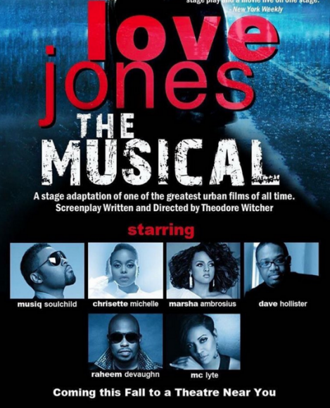 Love Jones The Musical at Verizon Theatre at Grand Prairie