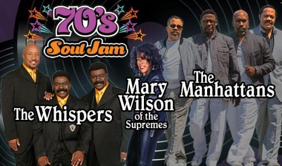 70's Soul Jam: The Whispers, The Manhattans & Mary Wilson at Verizon Theatre at Grand Prairie