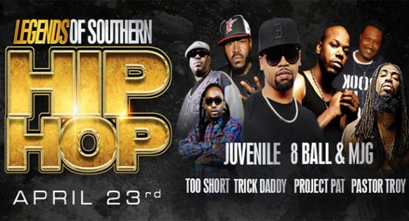 Legends Of Southern Hip Hop at Verizon Theatre at Grand Prairie