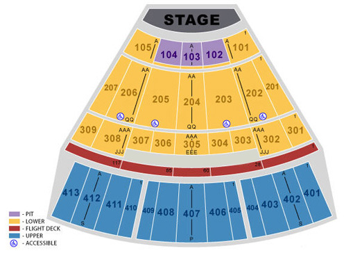 Verizon Theatre At Grand Prairie Seating Chart Verizon Theatre At