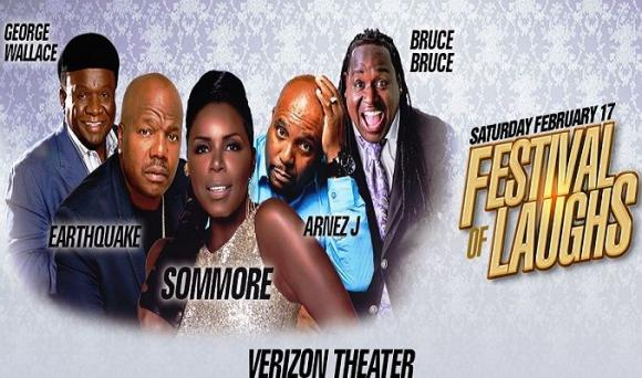 Festival of Laughs: Sommore, Arnez J, Earthquake, George Wallace & Bruce Bruce at Verizon Theatre at Grand Prairie