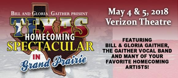 Gaither Texas Homecoming Spectacular at Verizon Theatre at Grand Prairie