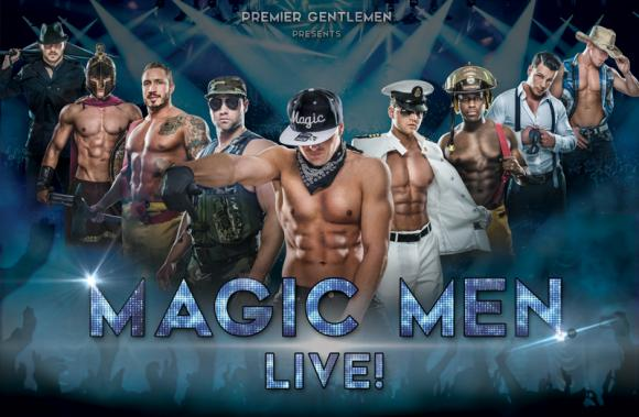 Magic Men Live! at Verizon Theatre at Grand Prairie