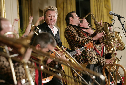 Brian Setzer Orchestra at Verizon Theatre at Grand Prairie