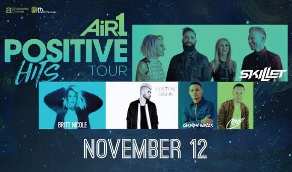 Air 1 Positive Hits Tour at Verizon Theatre at Grand Prairie
