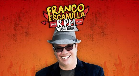 Franco Escamilla at Verizon Theatre at Grand Prairie