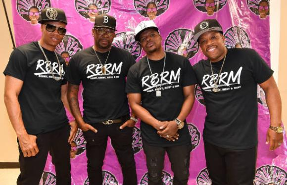 RBRM: Ronnie DeVoe, Bobby Brown, Ricky Bell & Michael Bivins at Verizon Theatre at Grand Prairie