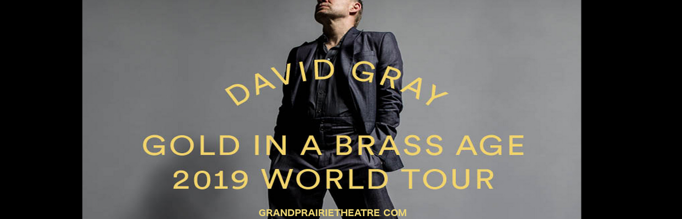 David Gray at Verizon Theatre at Grand Prairie