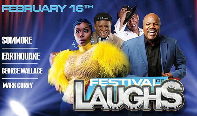 Festival of Laughs: Sommore, George Wallace, Earthquake & Mark Curry at Verizon Theatre at Grand Prairie