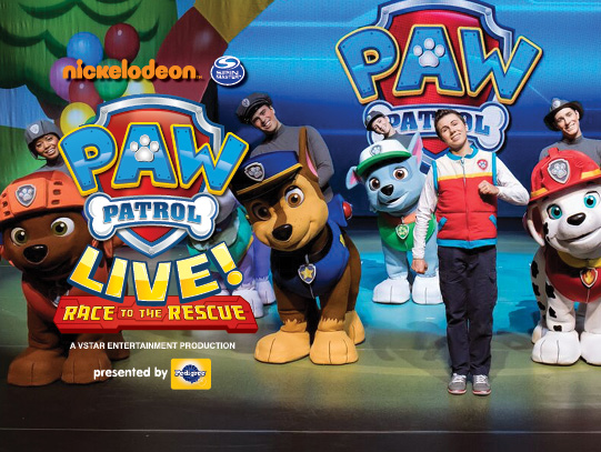 Paw Patrol Live at Verizon Theatre at Grand Prairie
