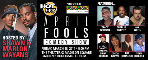 April Fools Comedy Jam at Verizon Theatre at Grand Prairie