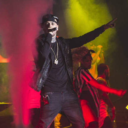 Nicky Jam at Verizon Theatre at Grand Prairie