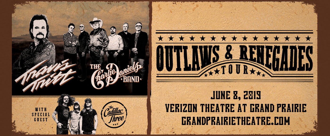 Travis Tritt & Charlie Daniels Band at Verizon Theatre at Grand Prairie