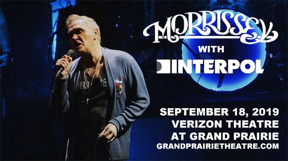 Morrissey & Interpol at Verizon Theatre at Grand Prairie