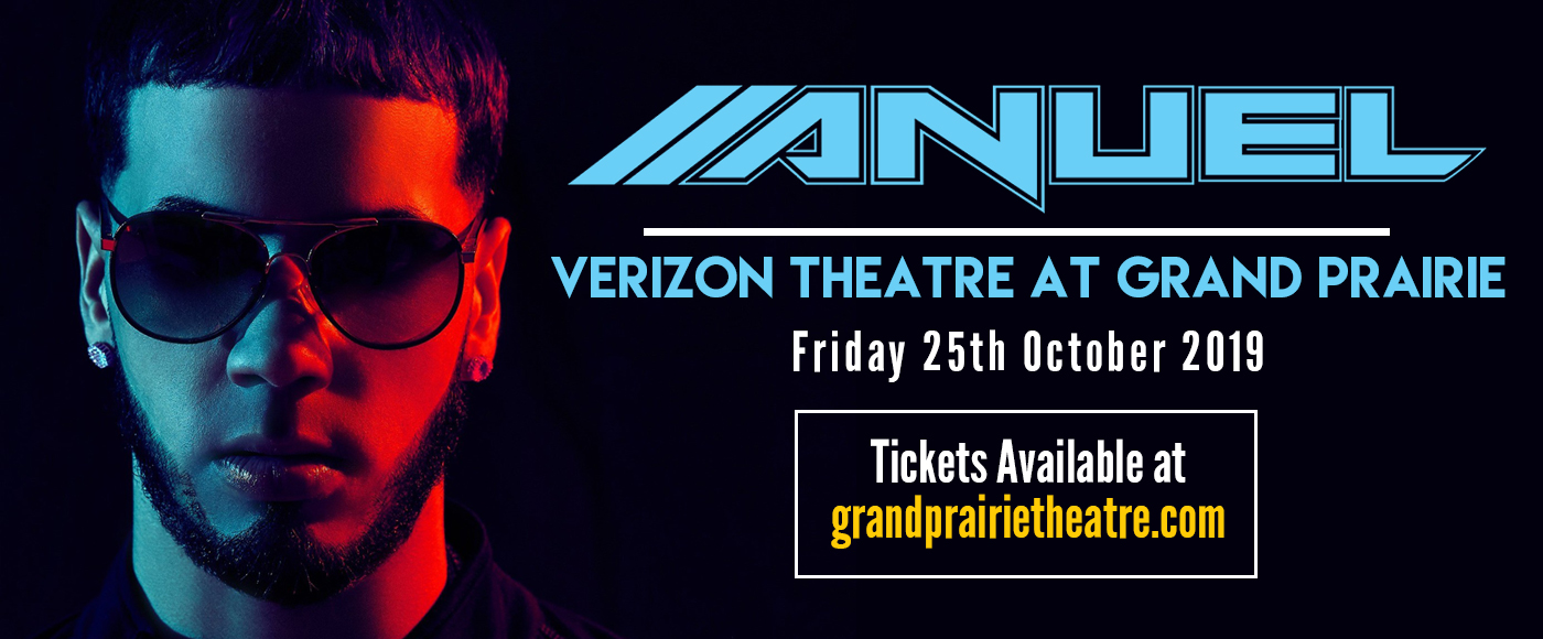 Anuel AA at Verizon Theatre at Grand Prairie