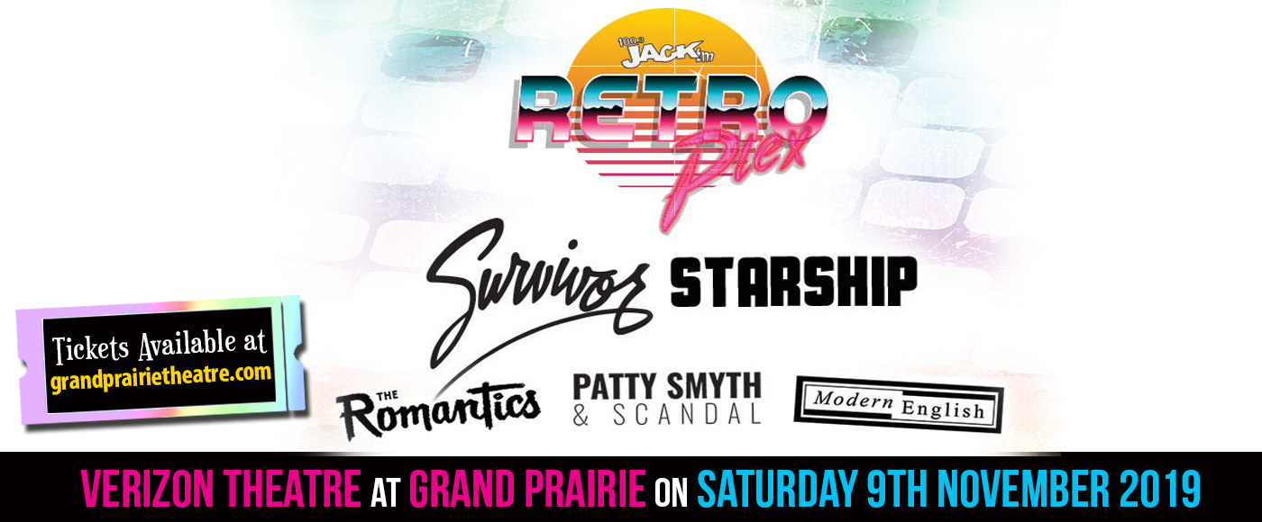 Jack FM Retroplex  at Verizon Theatre at Grand Prairie