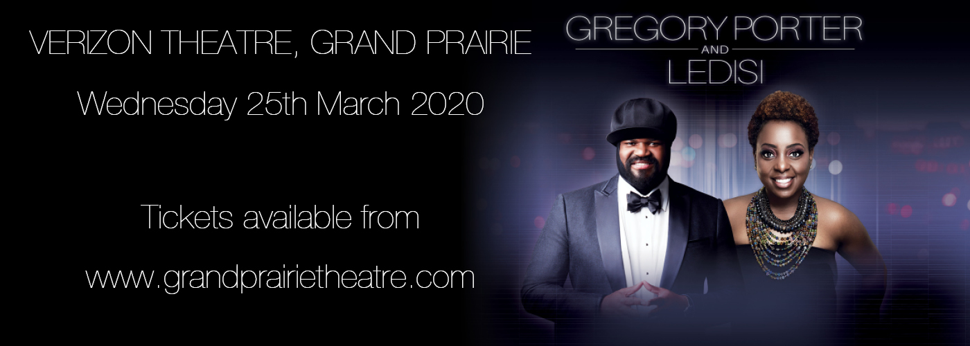Gregory Porter & Ledisi at Verizon Theatre at Grand Prairie