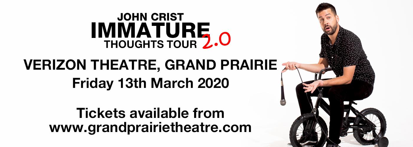 John Crist at Verizon Theatre at Grand Prairie