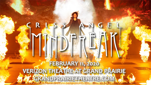 Criss Angel at Verizon Theatre at Grand Prairie