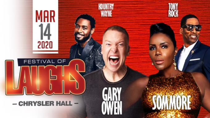 Festival of Laughs: Sommore, Lavell Crawford, Tony Rock, Mark Curry & Karlous Miller at Verizon Theatre at Grand Prairie