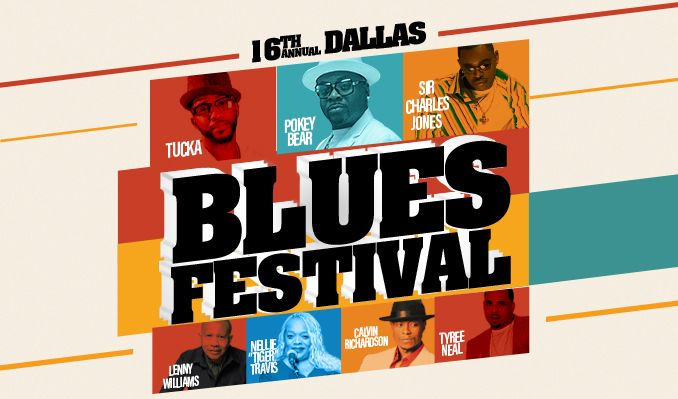 16th Annual Dallas Blues Festival at Verizon Theatre at Grand Prairie