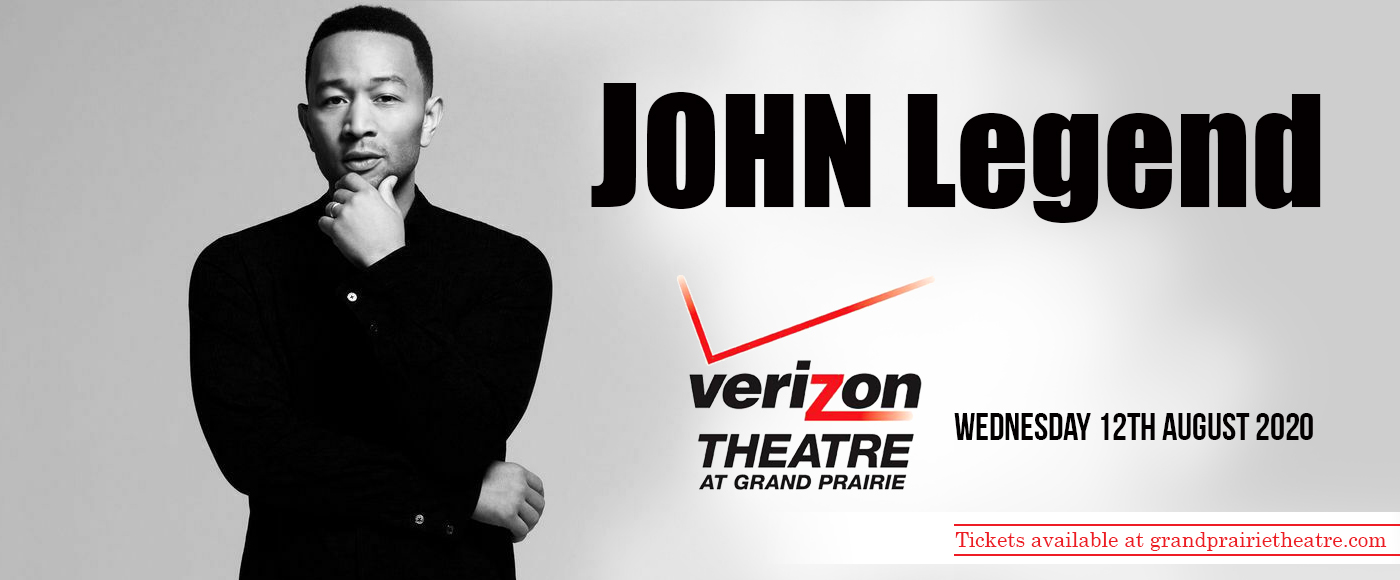 John Legend at Verizon Theatre at Grand Prairie