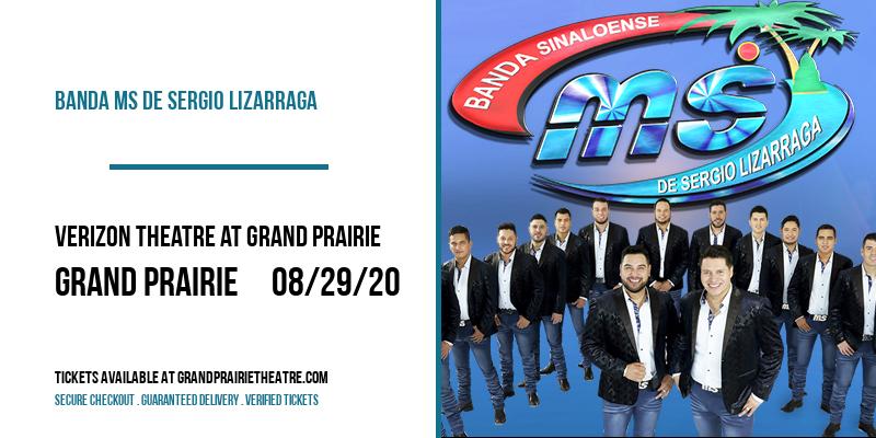 Banda MS de Sergio Lizarraga at Verizon Theatre at Grand Prairie