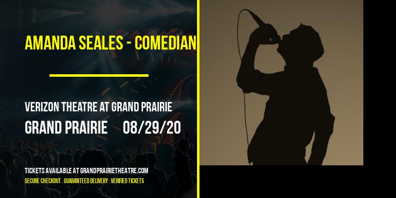 Amanda Seales - Comedian [CANCELLED] at Verizon Theatre at Grand Prairie