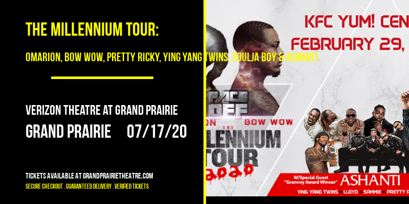 The Millennium Tour: Omarion, Bow Wow, Pretty Ricky, Ying Yang Twins, Soulja Boy & Ashanti at Verizon Theatre at Grand Prairie