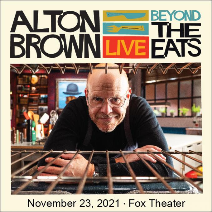 Alton Brown: Beyond The Eats at Verizon Theatre at Grand Prairie