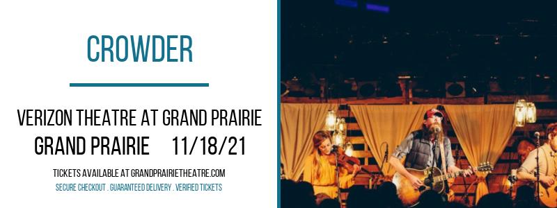 Crowder at Verizon Theatre at Grand Prairie