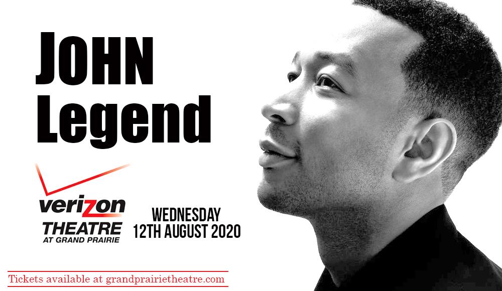 John Legend [CANCELLED] at Verizon Theatre at Grand Prairie