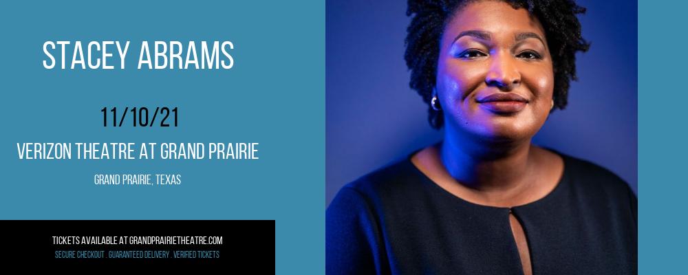Stacey Abrams at Verizon Theatre at Grand Prairie