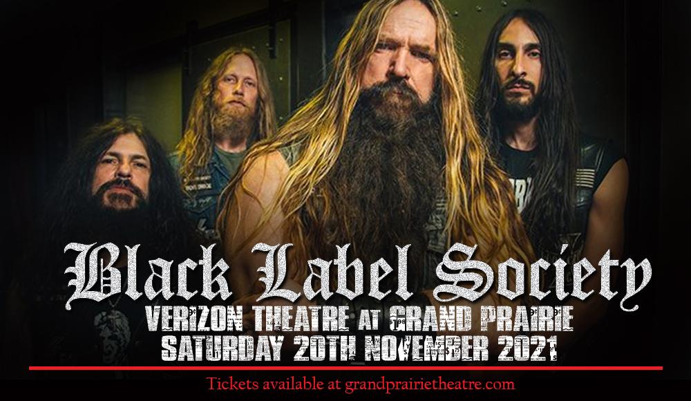 Black Label Society at Verizon Theatre at Grand Prairie