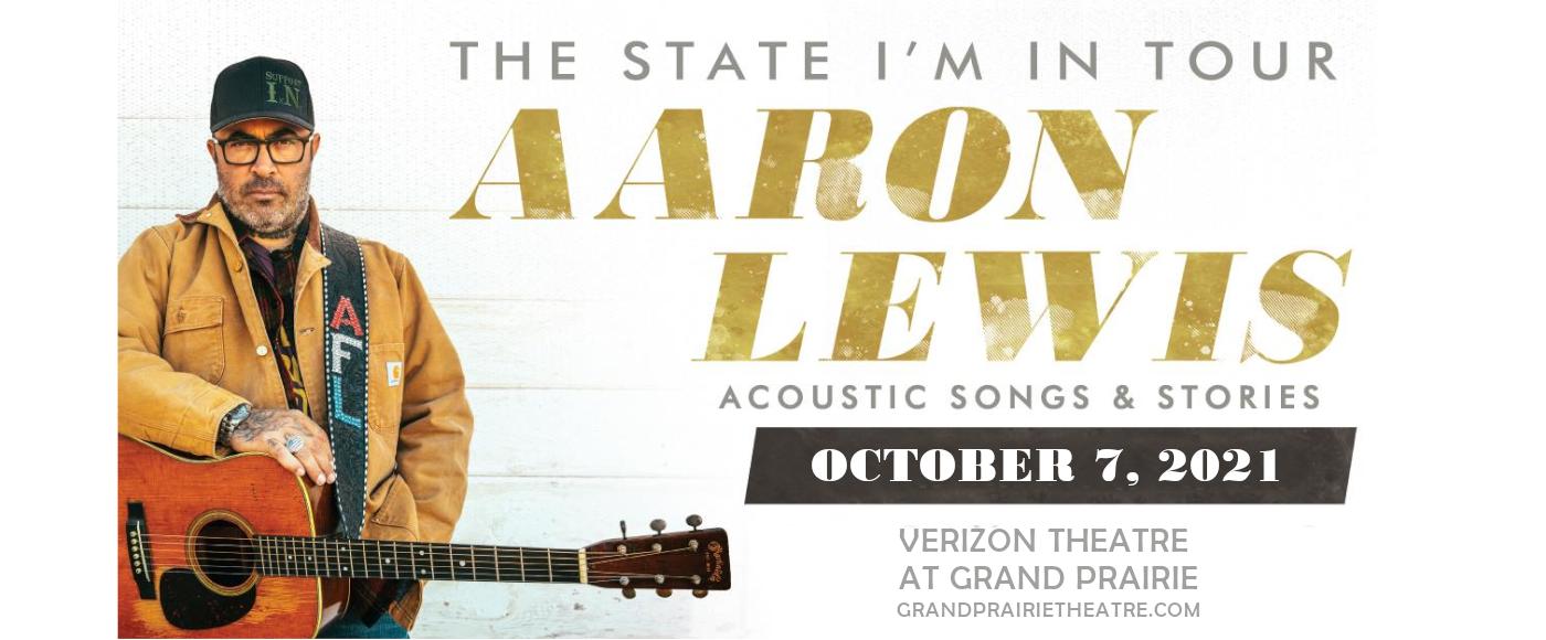 Aaron Lewis at Verizon Theatre at Grand Prairie