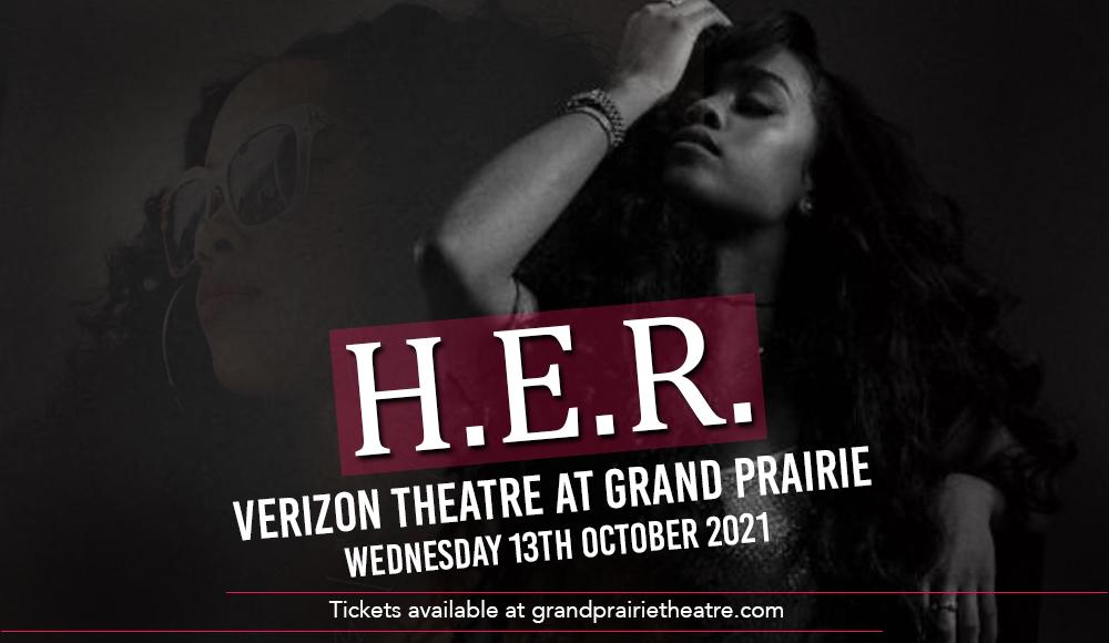 H.E.R. at Verizon Theatre at Grand Prairie