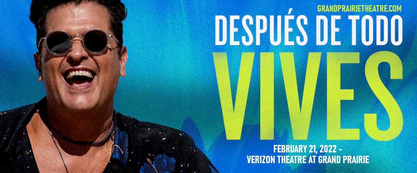 Carlos Vives at Verizon Theatre at Grand Prairie