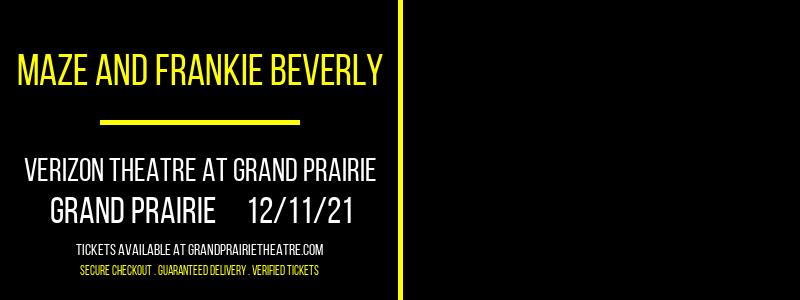 Maze and Frankie Beverly at Verizon Theatre at Grand Prairie