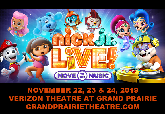 Nick Jr. Live! Move to the Music at Verizon Theatre at Grand Prairie