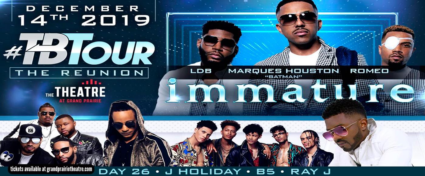 Immature/TBTour: IMX, Ray J, Day26, J. Holiday & B5 at Verizon Theatre at Grand Prairie