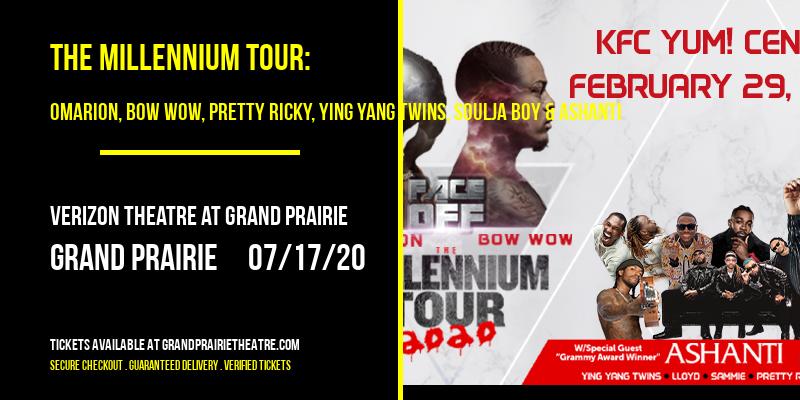 The Millennium Tour: Omarion, Bow Wow, Pretty Ricky, Ying Yang Twins, Soulja Boy & Ashanti [POSTPONED] at Verizon Theatre at Grand Prairie